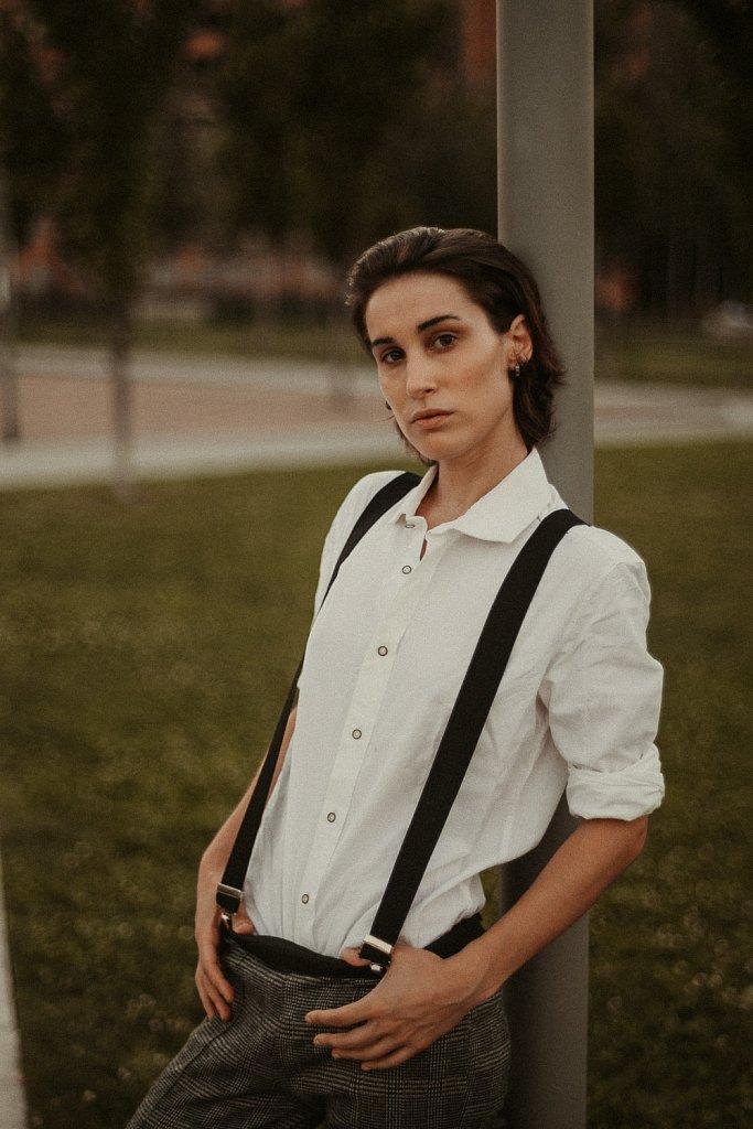 Federica Vintage Portrait